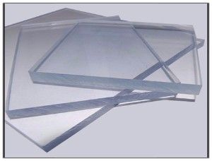 2050mm x 1250mm Solid Clear Polycarbonate
