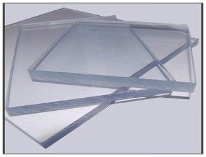 3050mm x 2050mm Solid Clear Polycarbonate