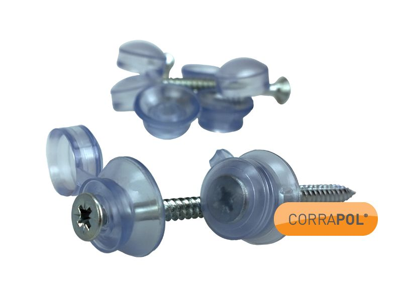 Corrapol Clear 50mm Roofing Fixings