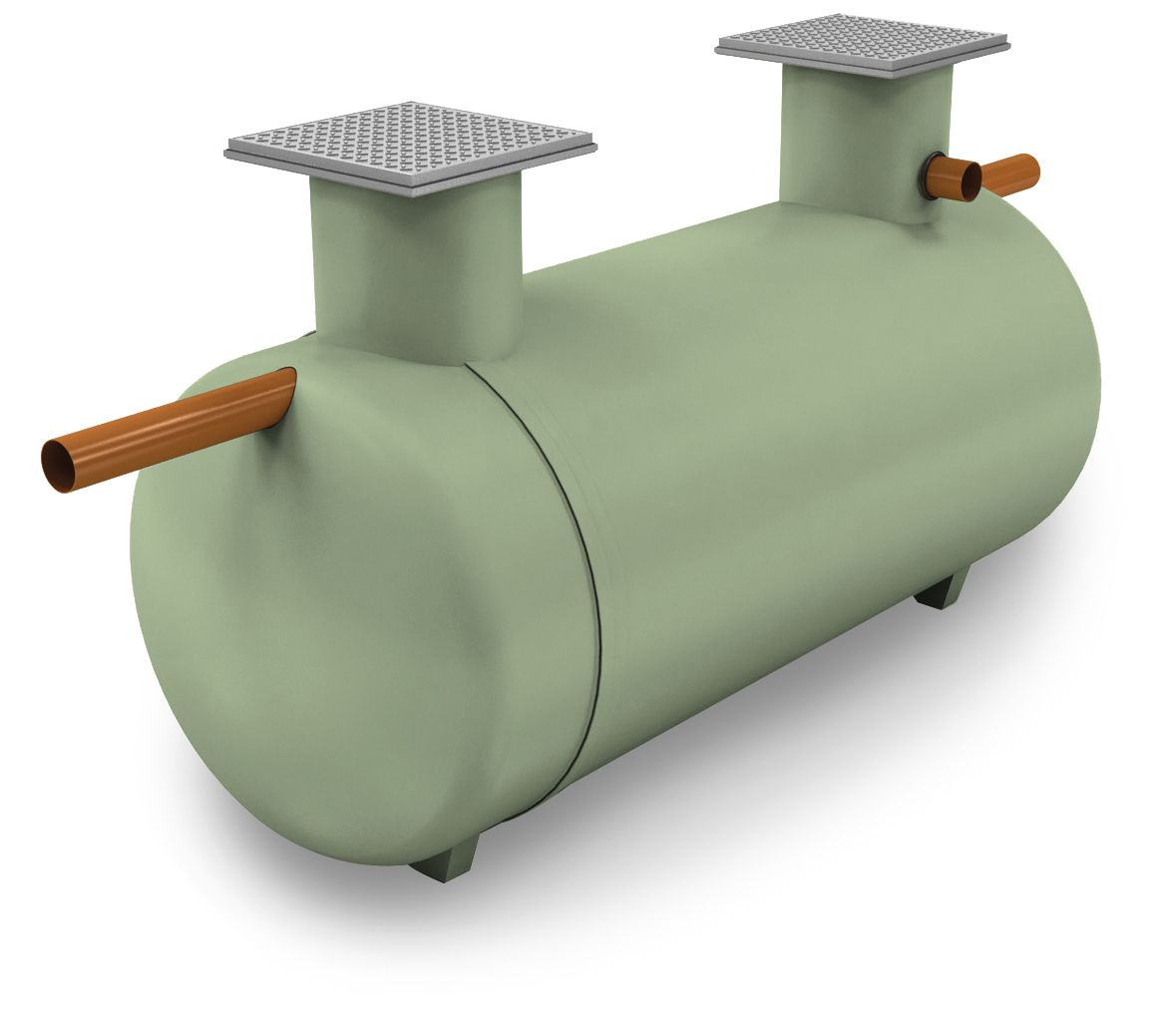 Shallow Dig Septic Tank 3800 Litre 12 Person