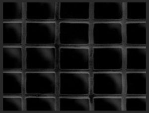 Tilepanel Embossed Black Small Gloss 5071S