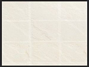 Tilepanel Embossed White Slate Large Matt 7145L