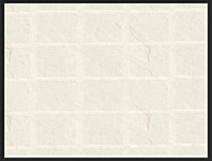 Tilepanel Embossed White Slate Small Gloss 7145S